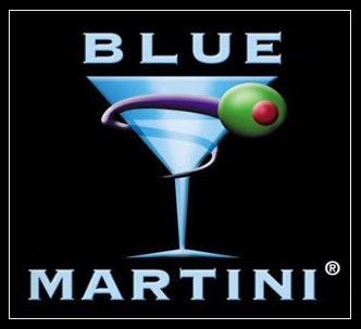 Blue martini sunrise